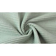 Cotton Waffle Old Green