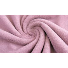 Bamboo Velvet Terry Cloth Old Pink