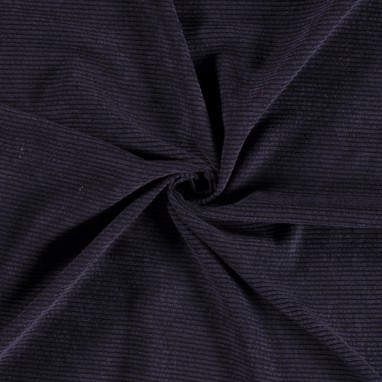 KNITTED FABRIC UNICOLOUR NAVY