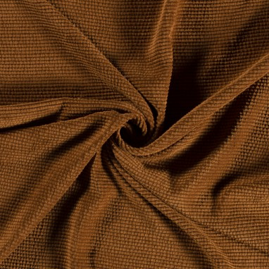 KNITTED FABRIC UNICOLOUR OKER