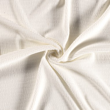 KNITTED FABRIC UNICOLOUR OFF WHITE
