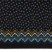JERSEY FABRIC PRINTED ABSTRACT PETROL