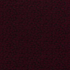 VISCOSE FABRIC DISCHARGE PRINTED FLOWERS DARK RED