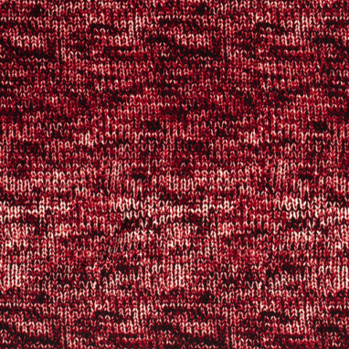 CREPE FABRIC PRINTED ABSTRACT DARK RED
