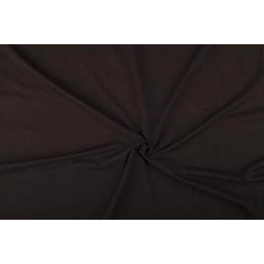 Cotton Jersey Elastane dark brown