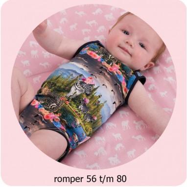 Patroon Baby Patroon Romper 56/80